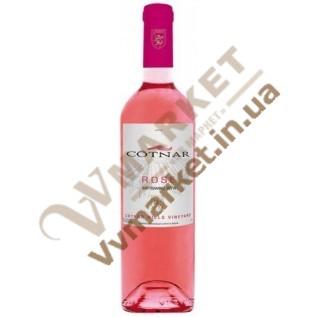 Вино Розе (ROSE) розовое полусладкое 0.75л Cotnar Hills Cotnar с доставкой вся Украина