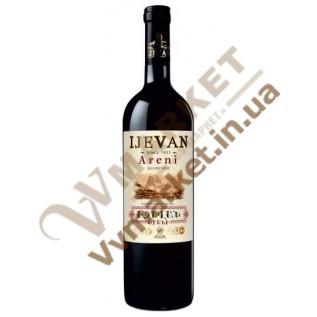 Вино Ijevan Арени красное сухое 0.75л с доставкой вся Украина