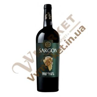 Вино Саргон Ijevan белое сухое 0.75л с доставкой вся Украина
