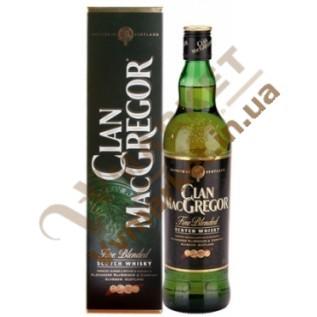 Виски Клан Мак Грегор (Clan MacGregor) 40% 0.7л в коробке, Шотландия с доставкой вся Украина