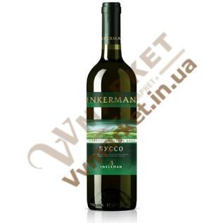 Вино Iнкерман  Буссо біле напівсолодке 0,75л.