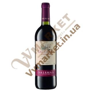 Вино Бастардо сухое красное, Инкерман 0,75л с доставкой вся Украина