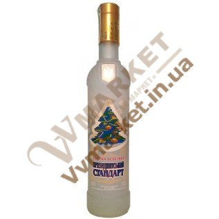 Водка Президентский стандарт новогодний 0.75л с доставкой вся Украина