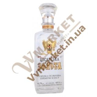 """Водка """"Цисарска золотая"""" (премиум - класс) 0.75л с доставкой вся Украина"""