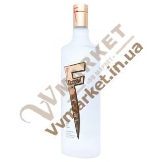 Водка Frankoff Gold (золотая) 0.75л с доставкой вся Украина