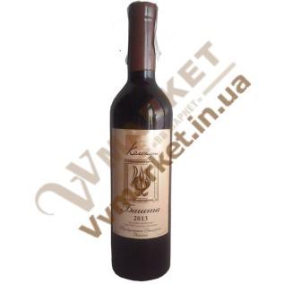 Вино Башта портвейн марочное красное Колонист 0.75л с доставкой вся Украина