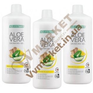 Aloe Verа гель питьевой Алоэ Вера Иммун Плюс, набор 3шт. по 1л, LR с доставкой вся Украина