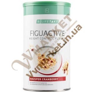 ФигуАктив Хлопья для контроля веса с клюквой Lifetakt Figu Active, 450г с доставкой Украина, Россия, Казахстан
