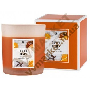 Арома-свеча «Апельсиновый пунш», LR с доставкой вся Украина