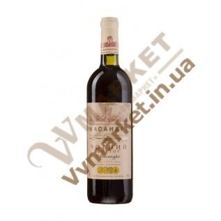 """Вино Массандра """"Чёрный Доктор"""", крепленое, десертное, 0.75л с доставкой вся Украина"""