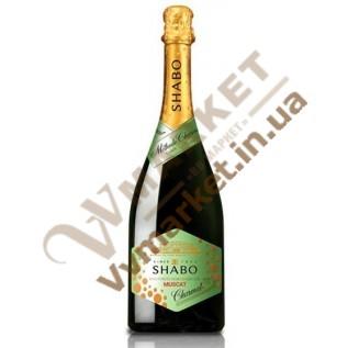 Вино игристое Шабо Charmat мускатное белое, 0.75л с доставкой вся Украина