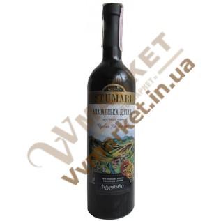 Вино Stumari Алазанская долина, красное, полусладкое, 0.75л с доставкой вся Украина