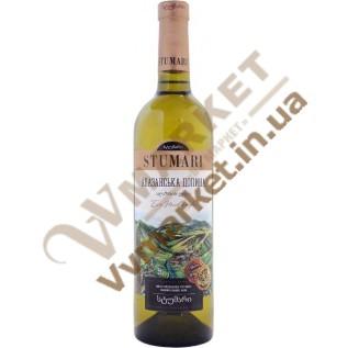 Вино Stumari Алазанская долина, белое, полусладкое, 0.75л с доставкой вся Украина