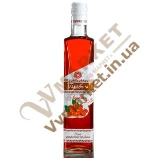 """Вермут особенный """"Рябина с коньяком"""" крепкий розовый 20% 0.5л, Горобина с доставкой вся Украина"""