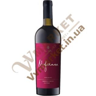Вино Марселан Солнечная Долина красное сухое, 0,75л с доставкой вся  Украина