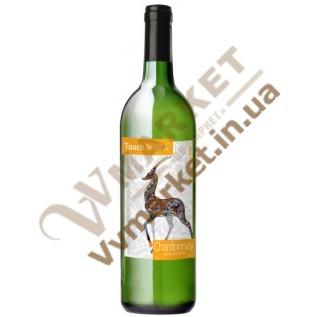 Вино Touch Africa Шардоне (CHARDONNAY), біле, сухе, 0,75л. с доставкой вся Украина