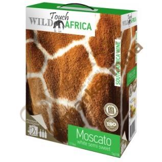 Вино Touch Africa Москато (MOSCATO), белое полусладкое BOX, 2л с доставкой вся Украина