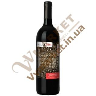 Вино Touch Wild Africa Каберне (CABERNET), красное сухое, 0,75л с доставкой вся Украина