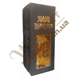 Водка Золото Полуботка Елитная Графин 40% 0.7л в коробке с доставкой вся Украина