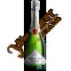 Шампанське Французький Бульвар SE, брют, біле, 0.75л