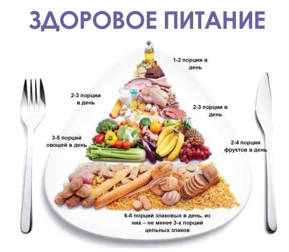 Современное сбалансированное питание